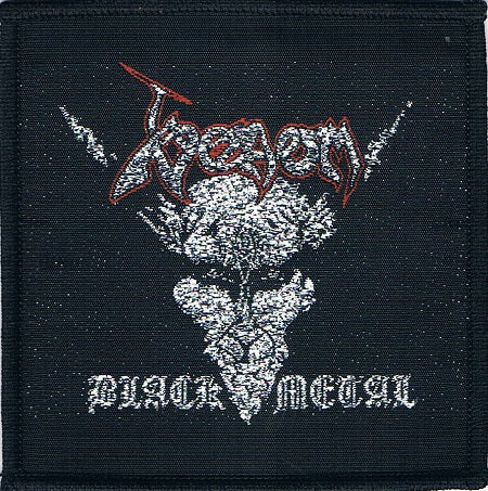 Venom | Black Metal Woven Patch