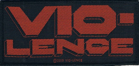 Vio-lence | Red Logo Woven Patch