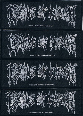 Cradle of Filth | Medium Size Logo Woven Stripe