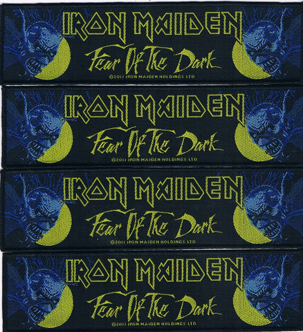 Iron Maiden | Woven Stripe Fear Of The Dark