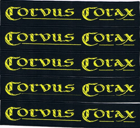Corvus Corax | Stitched Yellow Stripe