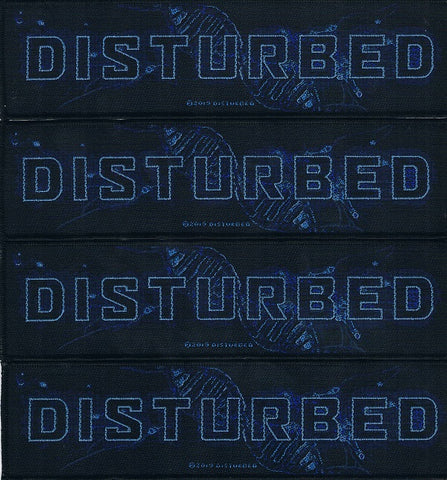 Disturbed | Woven Stripe Blue Blood