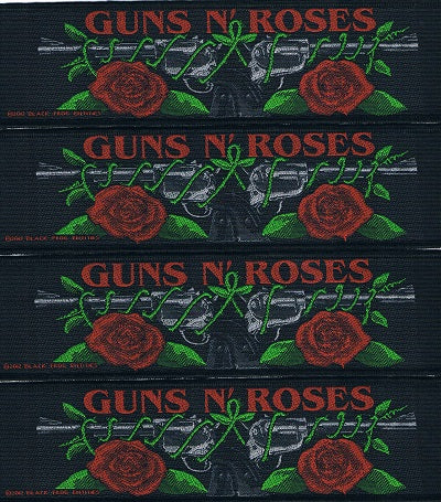 Guns & Roses | Woven Stripe Guns N Roses