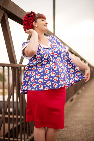 'Miss Cherry Love' Maternity Top