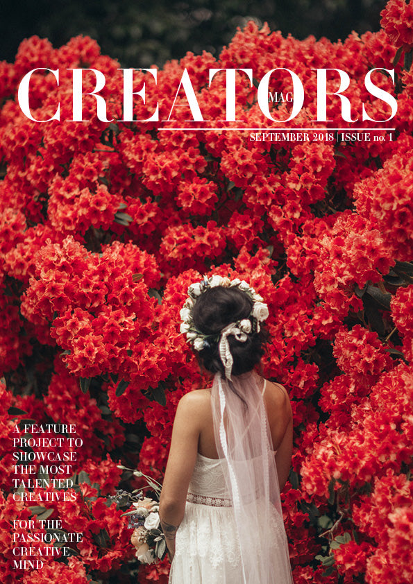 Creators Magazine | Issue no.1 (PRINT + DIGITAL)