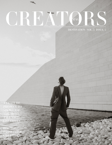 Creators Magazine | Destination Vol.3 Issue.4 (PRINT + DIGITAL)