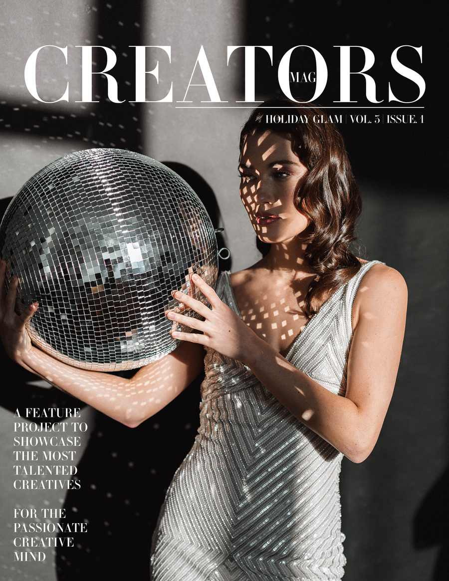 Creators Magazine | Holiday Glam Vol.3 Issue.1 (PRINT + DIGITAL)