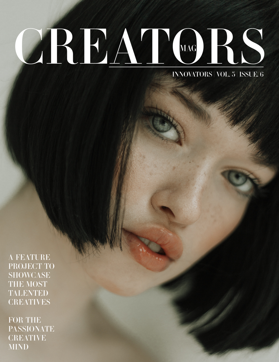 Creators Magazine | Innovators Vol.3 Issue.6 (PRINT + DIGITAL)
