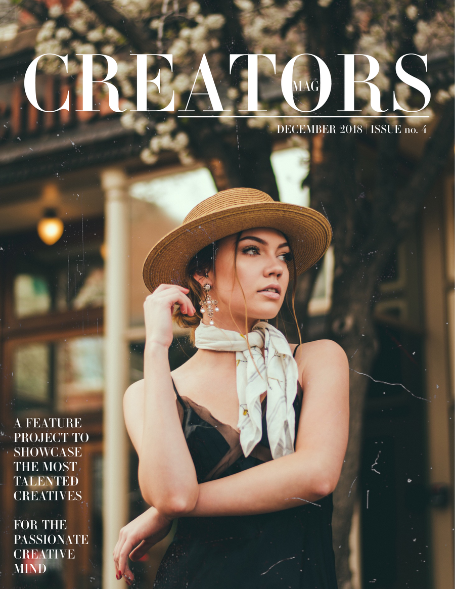 Creators Magazine | December Issue no.4 (PRINT + DIGITAL)