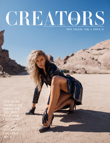 Creators Magazine | New Angles Vol.2 Issue.15 (PRINT + DIGITAL)