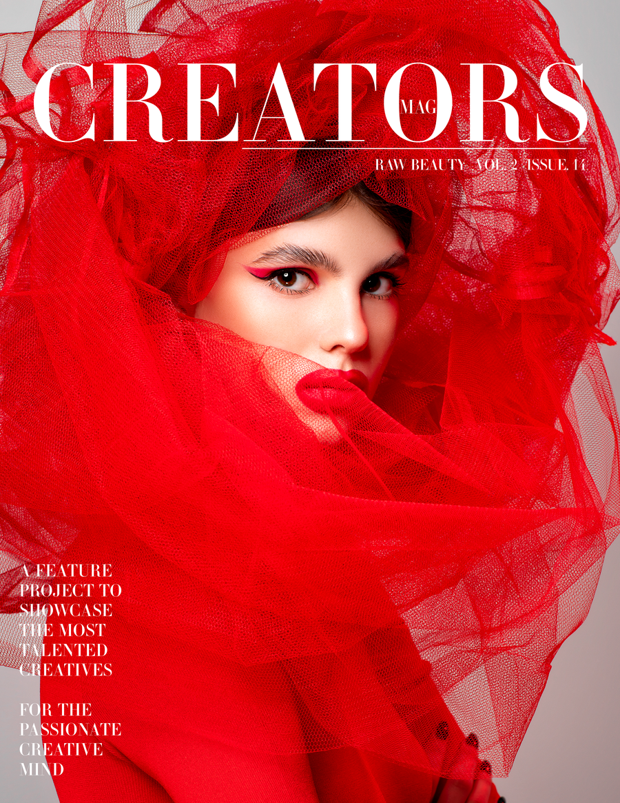 Creators Magazine | Raw Beauty Vol.2 Issue.14 (PRINT + DIGITAL)