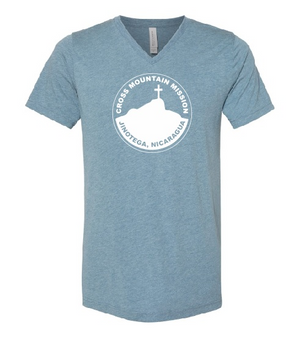 Cross Mountain Mission Triblend V Neck