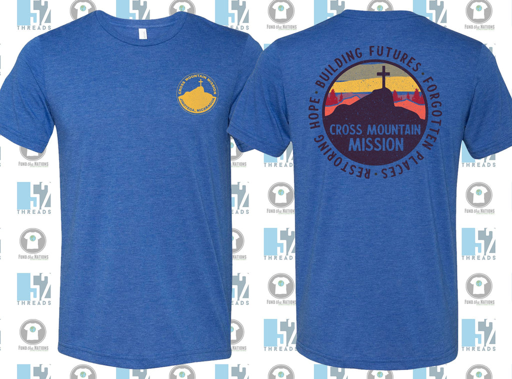 Cross Mountain Mission T-shirt