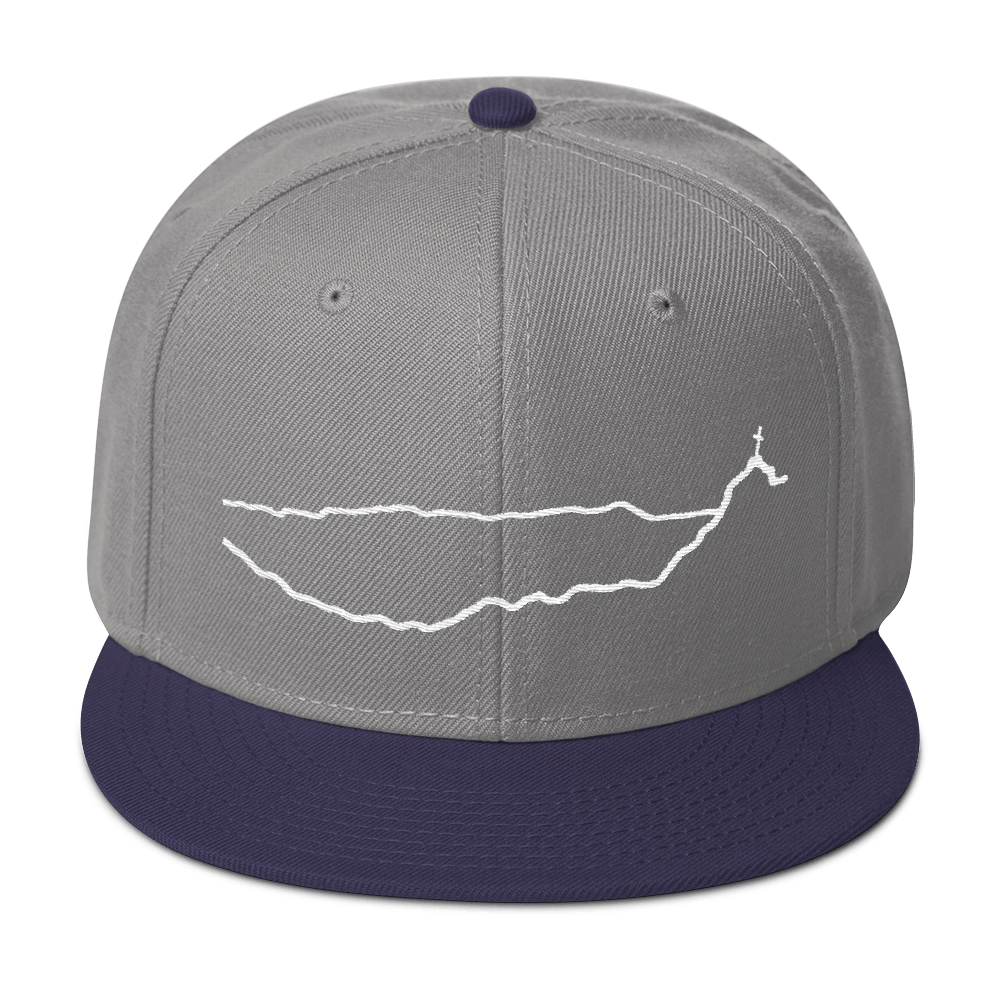 Cross Mountain Snapback Hat