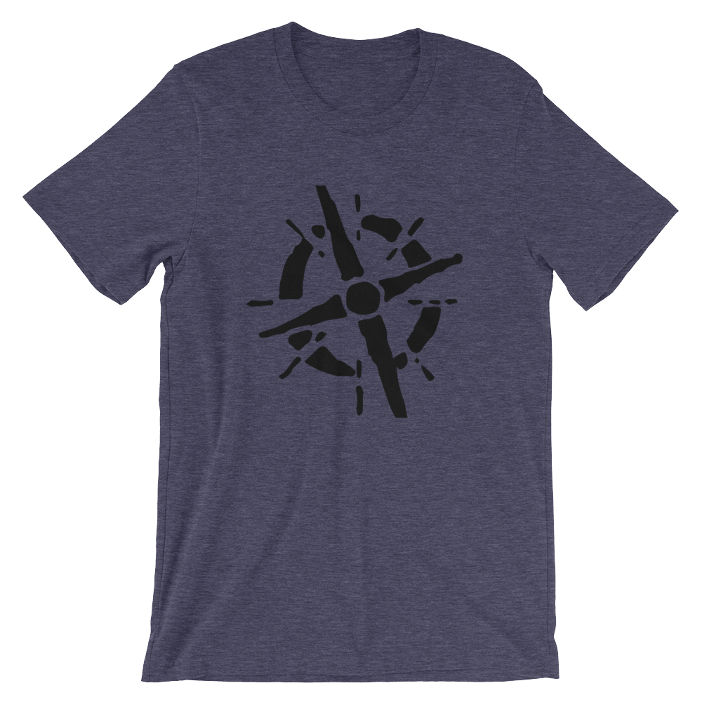 Compass Short-Sleeve Unisex T-Shirt