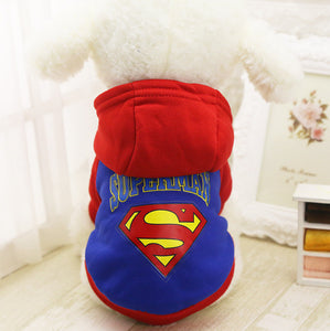 Superman Dog Coat