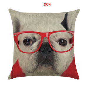 Decorative pillow cover for your home with dog print