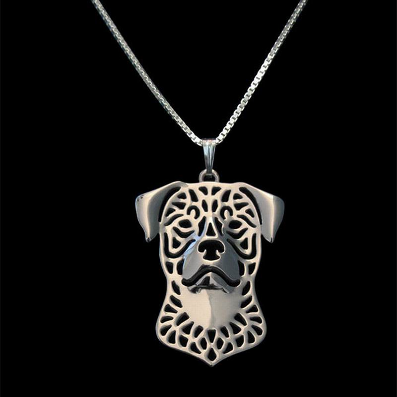 2018 Women's Jewelry Dog Necklaces (Rottweiler Pendant)