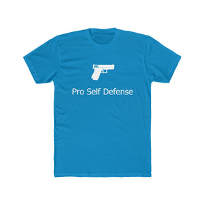 Could it be any more clear? Pro gun is pro self defense!