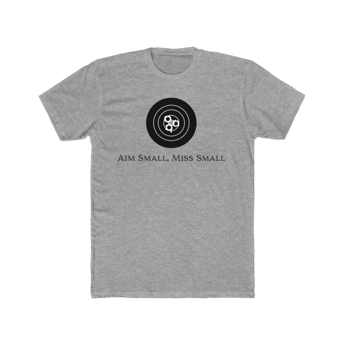 Aim small, miss small