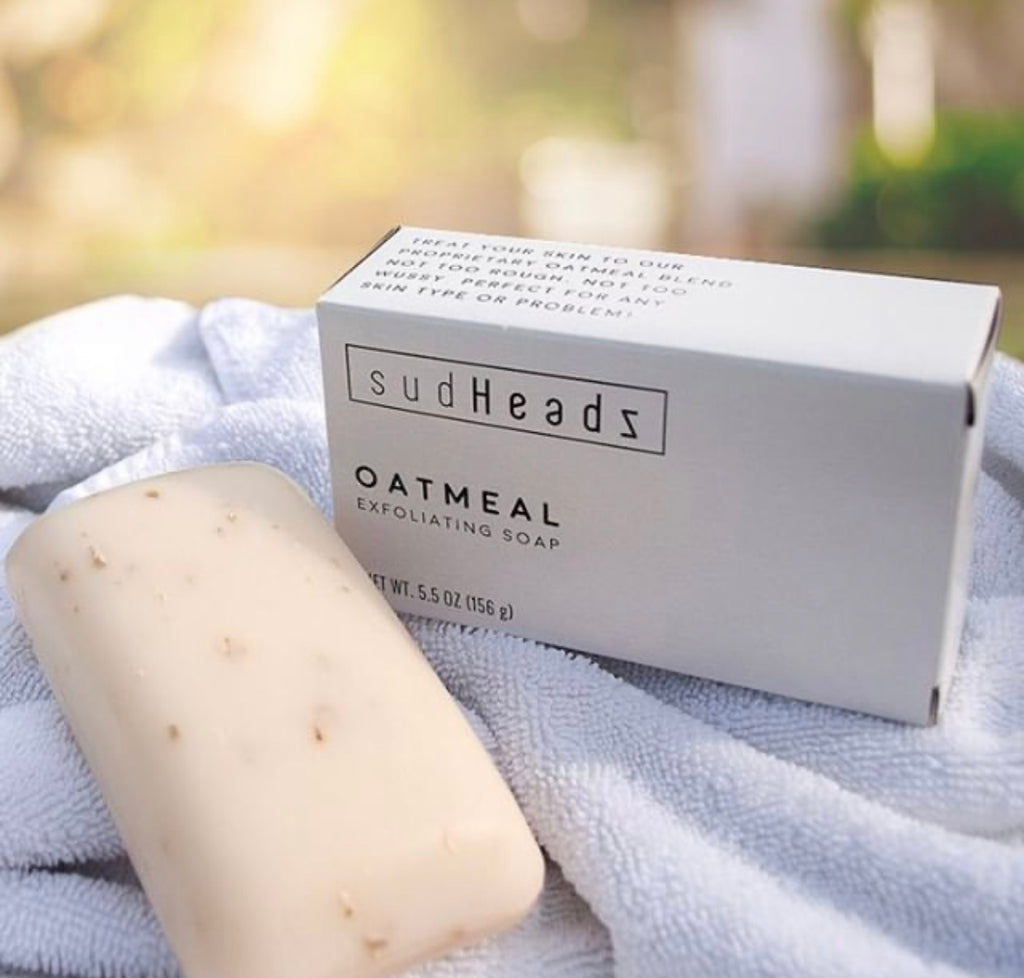 All-Natural Oatmeal Soap