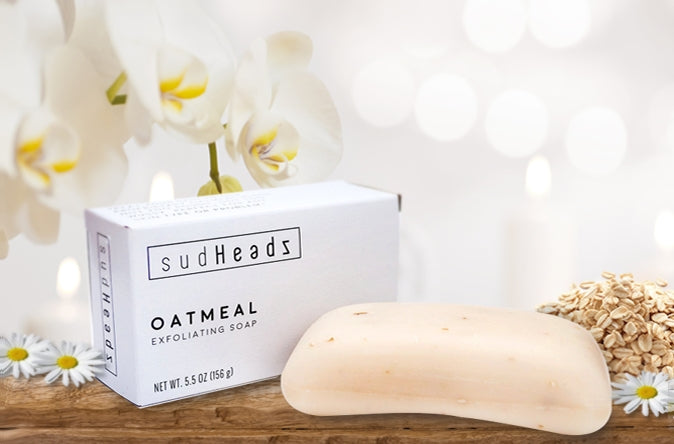 All-Natural Exfoliating Oatmeal Bars