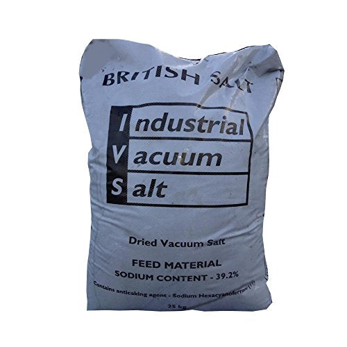 Pure Dried Vacuum Pond Salt 25kg