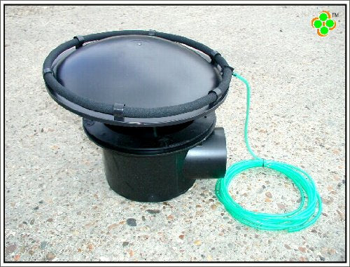 "CLOVERLEAF AERATED BOTTOM DRAIN 4"" (100mm) FOR KOI PONDS"