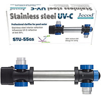 Jecod/Jebao STU55 Stainless Steel 55W UV Sterilizer Up to 25,000 L Pond Clarifier