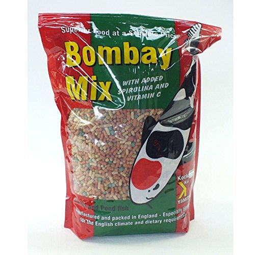 Kockney Koi Yamitsu Bombay Mix Floating Pellets Sticks Koi Goldfish Fish Food 10kg