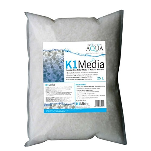 Evolution Aqua Kaldnes K1 Media 25ltr