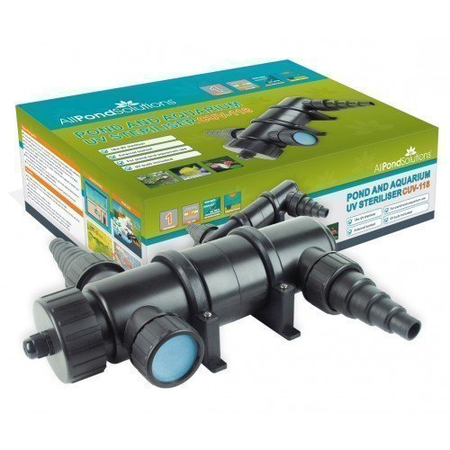 All Pond Solutions UV Light Steriliser Clarifier Filter, 18 W