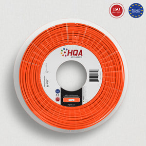 ***PARTIAL SPOOL EXTRA*** HQA ABS (Low Warp), Orange, 1.75MM