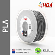 HQA PLA+ 3D Printer Filament, Silver, 1.75MM, 1KG Spool, [NatureWorks 4043D]