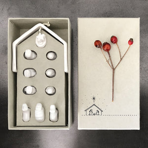 Porcelain Nativity Set - Heaven in Earth
