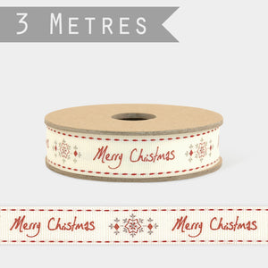 Message Christmas ribbon - Heaven in Earth