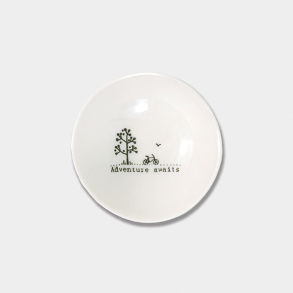 Wobbly porcelain bowls - small