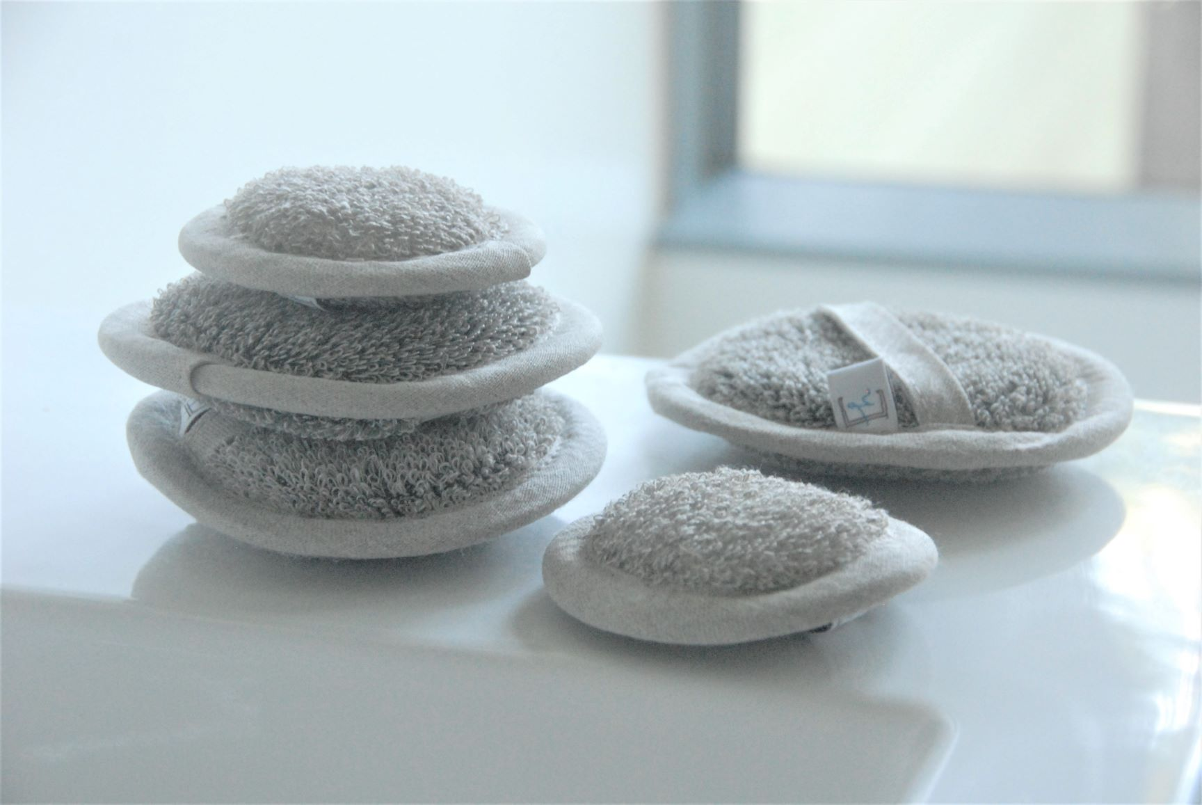 Linen Face Sponges - Heaven in Earth