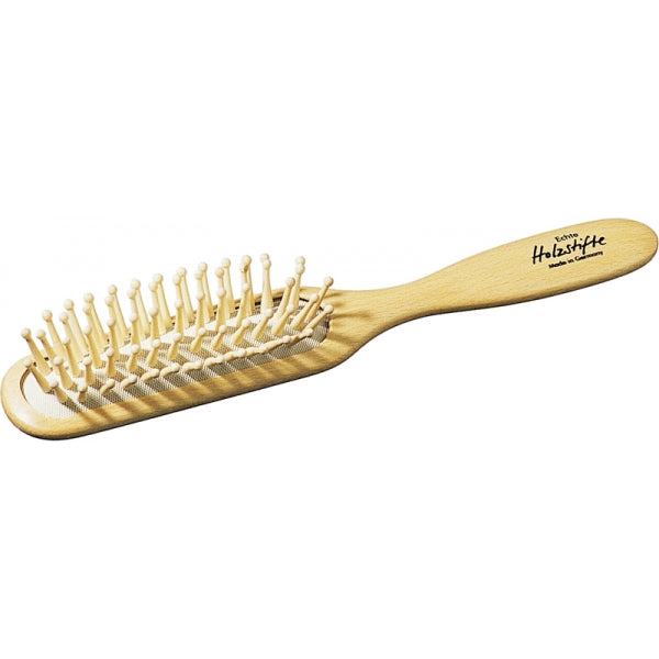 Oblong Wood Hairbrush wood pin - Heaven in Earth