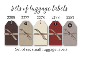 Strung tags/labels small pack of 6 - Heaven in Earth