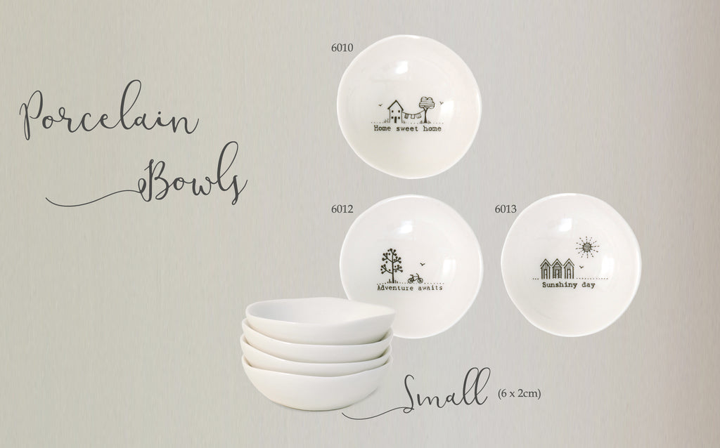 Wobbly porcelain bowls - small - Heaven in Earth