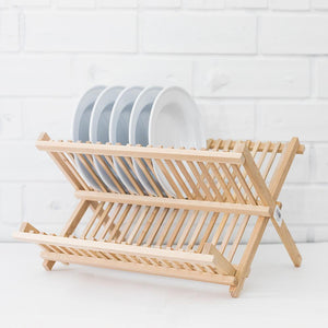 Wooden Dish Rack - Heaven in Earth