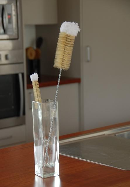 Bottle Brushes - cotton wool - Heaven in Earth