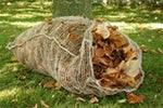 Jute leaf sacks - pair - Heaven in Earth