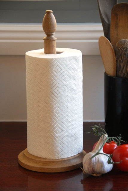 Oak Paper Towel stand - Heaven in Earth