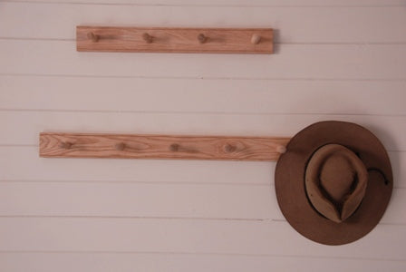 Peg Rails in Oak - Heaven in Earth