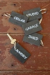 Slate Key Ring - Heaven in Earth