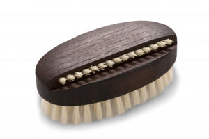 Nail Brush, Oval - Thermowood - Heaven in Earth