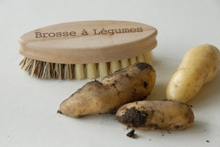 Vegetable Brush - French text - Heaven in Earth