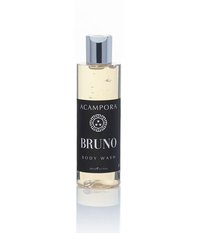 Body Wash Bruno Acampora Profumi Fragranza Legnosa a base di oud e sandalo